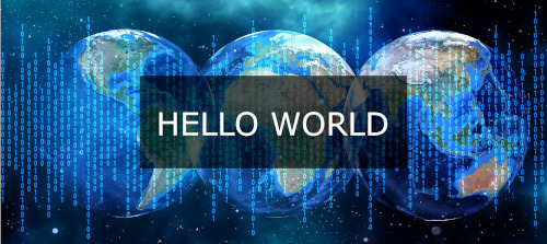 hello world software development
